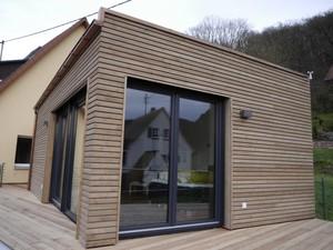 Fassadenmodernisierung mit Holz
