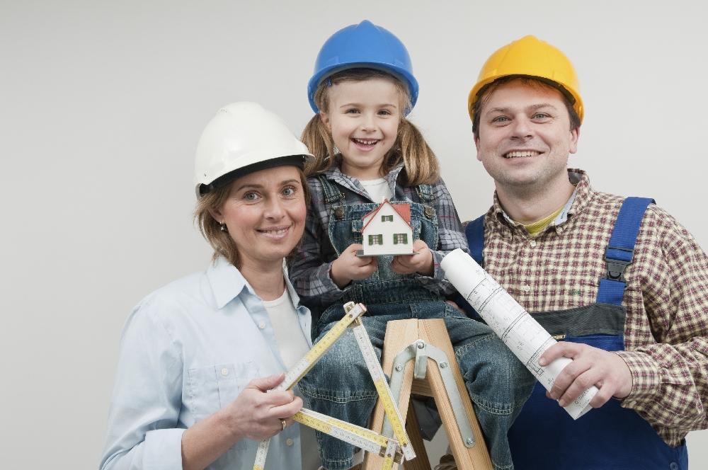 Schlüsselfertig bauen für Familien