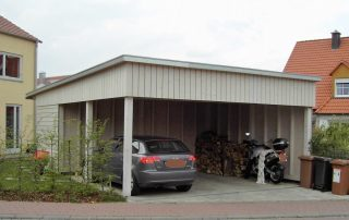 Carport in Kürnach