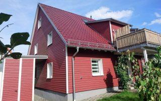 Doppelhaus als Passivhaus Erlenbach