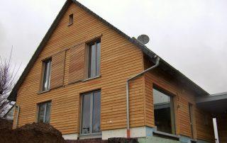 Neubau von Holzhäusern Einfamilienhaus Erlenbach