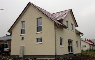 Neubau von Holzhäusern Einfamilienhaus Thulba