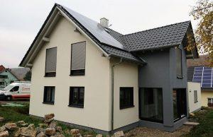 Neubau von Holzhäusern Einfamilienhaus Rodenbach