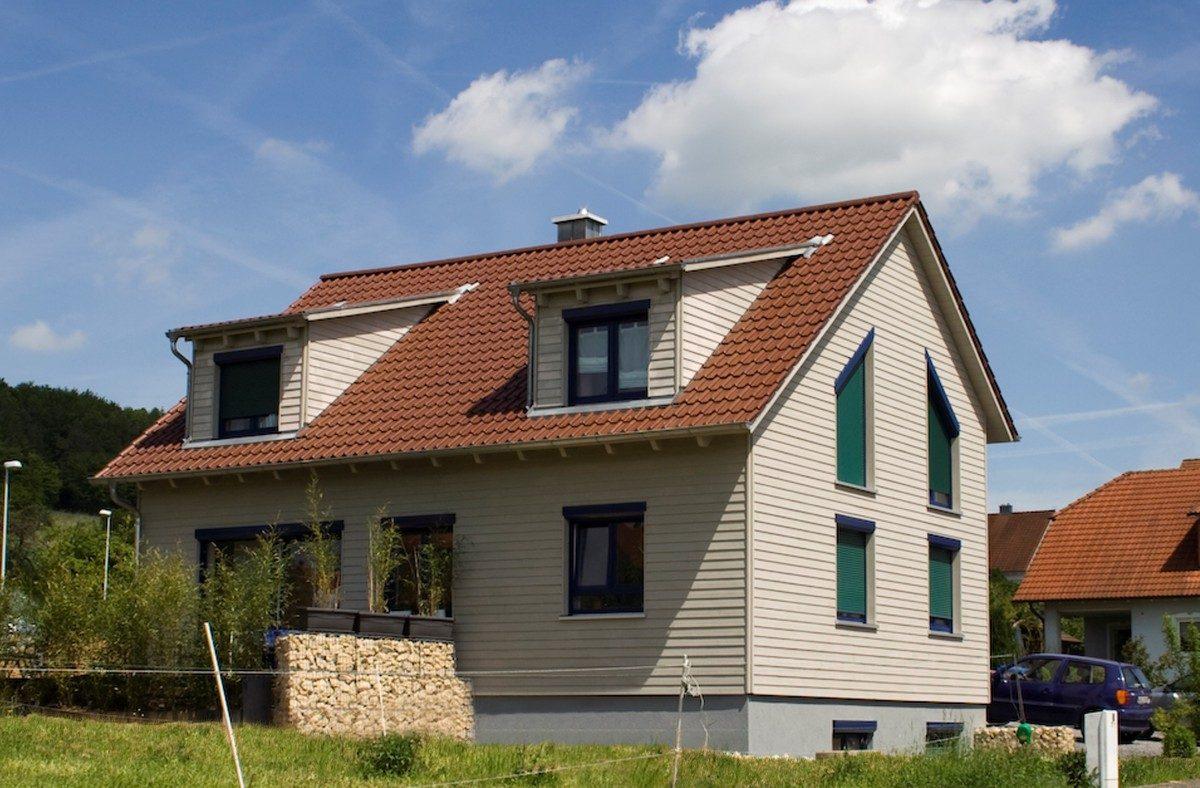 Neubau von Holzhäusern Einfamilienhaus Helmstadt