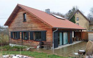 Neubau von Holzhäusern Külsheim