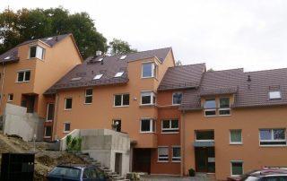 Ökologischer Holzbau Mehrfamilienhaus