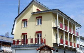 Neubau Passivhaus Erlenbach