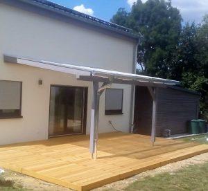 Terrassenüberdachung in Gramschatz