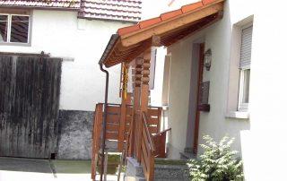 Vordach in Erlenbach