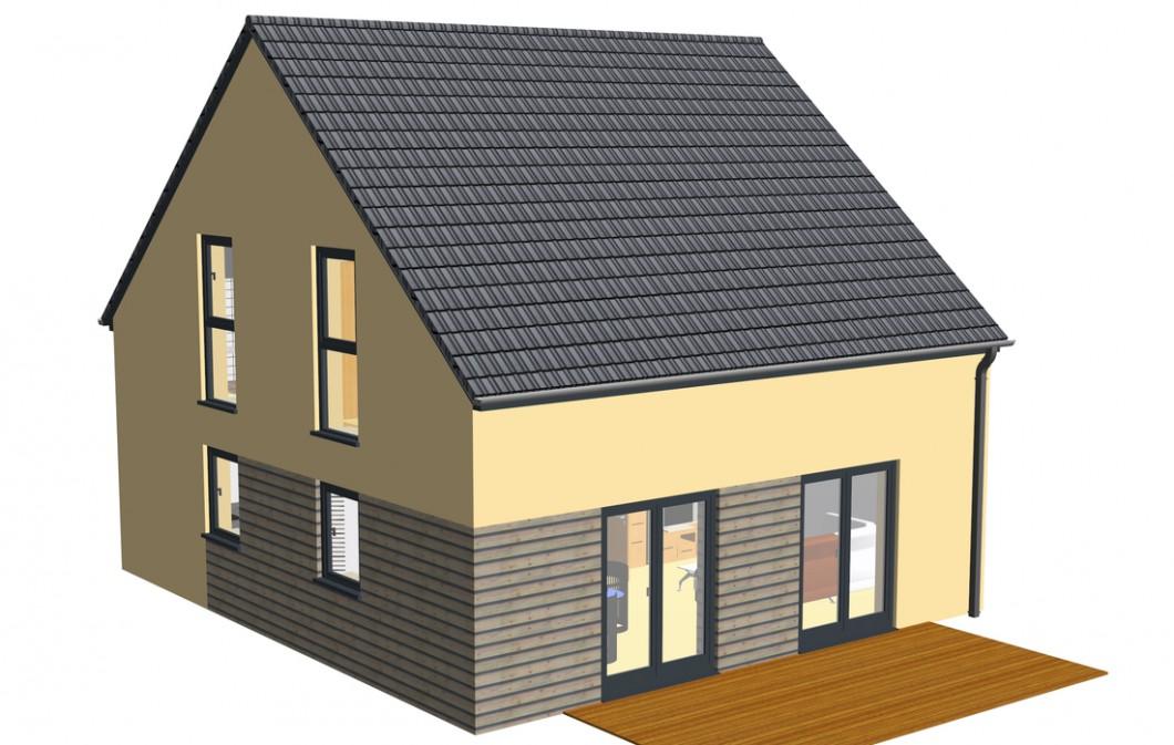 Holzhaus Miltenberg schlüsselfertig von Holzbau Freisinger