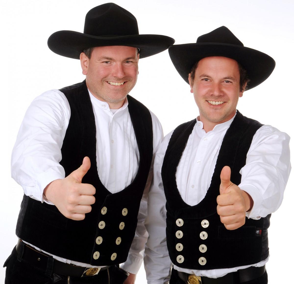Thomas Freisinger und Michael Freisinger von Holzbau Freisinger